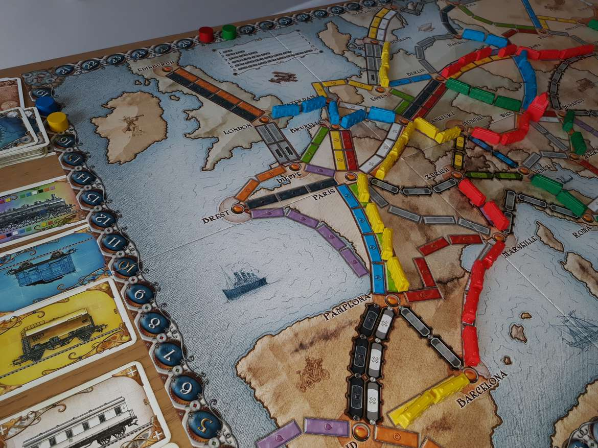 Ticket To Ride Europe Board Game Bible